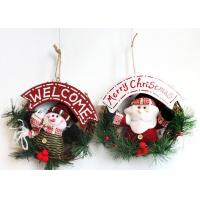 Buy cheap Door Hanging Festival Decoration Items , Handmade Christmas Ornaments  from Wholesalers