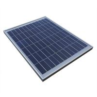 Buy cheap Slushing Bendable 20W 12V Solar Panel , Poly Solar Panel For Home System from wholesalers