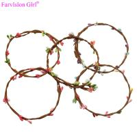 Buy cheap Fashion silicone baby american girl doll hair accessories flower belt wholesale china from wholesalers