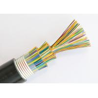 Buy cheap Double Jacket Direct Burial Telephone Cable Bare Copper Jelly Filled PE Insulation from wholesalers
