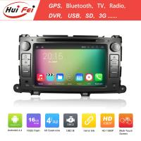 Buy cheap RK3188 Quad-core 3G Car DVD For Toyota Sienna HuiFei Android 4.4.4 OS Double Din from wholesalers