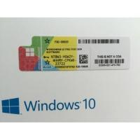 Buy cheap Genuine Microsoft COA License Sticker Windows 10 Pro Retail Box OEM Version from wholesalers