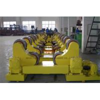 China Boiler Conventional Welding Rotator , 10 Ton Pipe Rollers For Welding on sale