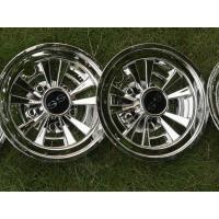 Buy cheap 8Inch Golf Cart Wheel Covers , Chrome SS Wheel Covers Universal Fit Set of 4 product