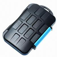 Buy cheap Water-resistant Extremely Tough Memory Card Case for 4 CF and 8 SD Cards from wholesalers