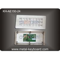 IP65 Rated waterproof computer keyboard , water resistant keyboard 24 Keys