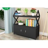 Buy cheap Metal wood garage storage rack with shelves and cabinet from wholesalers