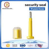 Buy cheap B405 high security container seal price with PC Yellow Green blue red Container Truck Train Tanker seal from wholesalers