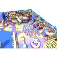 Buy cheap Candy Theme Indoor Playground Equipment Beautiful Commonly Known As Kids Castle from wholesalers