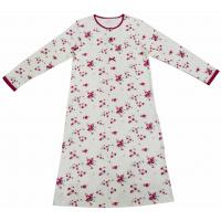 Buy cheap Super Soft Cotton Long Sleeve Sleep Dress , Fashion Women'S Gowns Sleepwear from wholesalers