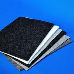 Buy cheap Reusable Carpet Underlay Felt Fabric Polyester Carpet Base Cloth from wholesalers