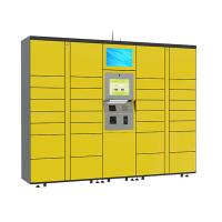 Buy cheap 15 inch Touch Screen Parcel Delivery Lockers , Computer System Parcel Locker Service from wholesalers