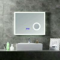 Buy cheap smart wall Led Bathroom Mirror With Radio / vanity mirror with bluetooth speaker from wholesalers