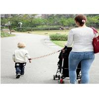 Buy cheap 5.0mm  PU Coated Adjustable Baby Outdoor Retractable Safety Lanyard Anti Lost Belt For Keep Baby In Safe from wholesalers