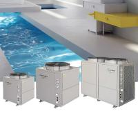 Buy cheap Freestanding Swimming Pool Heat Pump Hot Water With Titanium Heating from wholesalers