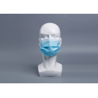 Buy cheap Anti Virus 3 Ply EN149 Disposable Sheet Earloop Mask product
