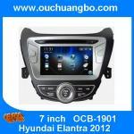 Buy cheap Ouchuangbo car Stereo Radio GPS Sat Nav Player for Hyundai Elantra 2012 USB SD Canada map from wholesalers