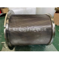 Buy cheap 50 Micron Wedge Wire Filter Elements For Scarping Filters product
