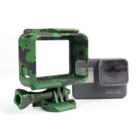 Buy cheap Camouflage Standard Border Frame Protective Action Camera Housing , GoPro Hero 5 housing for camera  from wholesalers