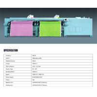 Buy cheap Dual Rolls Horizontal Quilting Embroidery Machine Customized 60mm Needle Distance from wholesalers