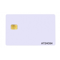 Buy cheap Pre Printed PVC Memory IC AT24C64 Chip Contact Card from wholesalers