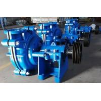 Buy cheap High Chrome Alloy Horizontal Slurry Pump for Heavy Duty Minerals Processing Applications from wholesalers