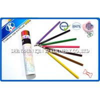Buy cheap Girls and Boys Colorful Gift Eco Recycled Paper Pencils with High Grade Basswood from wholesalers