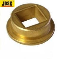 Buy cheap Factory customized powder metal oil impregnated square hole sintered bronze bushing from wholesalers