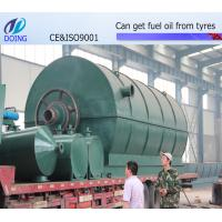 Buy cheap European Standard Waste tire to Oil Recycling With Competitive Price from wholesalers