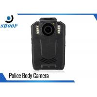 Buy cheap 1296P Portable Police Body Cameras Black With 2.0 Inch LCD Display product