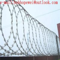 Buy cheap concertina wire for sale/ razor barbed wire/ razor wire price/ razor fence/wire fence/ buy razor wire/ field fence from wholesalers