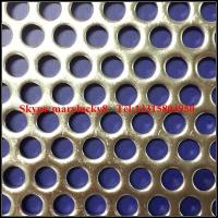 Buy cheap Stainless Steel Perforated Metal Mesh/Perforated Sheet(SGS Factory) from wholesalers