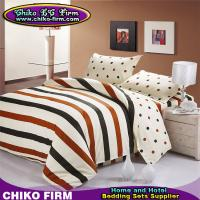 Buy cheap CKMM026-CKMM030 100 Cotton Stripes and Dots Design Twin Full Queen King Size Duvet Cover Sets from wholesalers