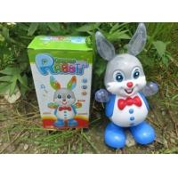 Buy cheap New hot sale toy, electric lighting toy, can sing and dance, walking swing rabbit, flashlight toy from wholesalers