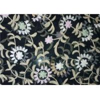 Buy cheap 100% Polyester Embroidered Fabrics Contemporary Upholstery Fabric from wholesalers
