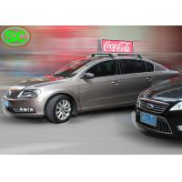 Buy cheap P5 Double Side Scrolling Led Display Digital Taxi Car Led Top Sign Display Billboard from wholesalers