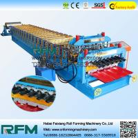 Buy cheap Double Layer Roofing Sheets Making Machines , Metal Sheet Roof Roll Forming Machine from wholesalers