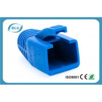 Buy cheap Blue Rubber Network Cable Accessories RJ45 Plug Boot For Cat7 Patch Cable from wholesalers