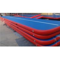Buy cheap Doubla Wall Fabric Inflatable Air Track Air Mattress Gymnastics Weather Proof from wholesalers
