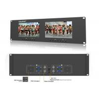 Buy cheap HD Broadcast Rack Mount Video Monitor LED backlit High Brightness 400cd from wholesalers