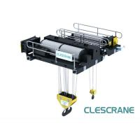 Buy cheap Europe Type electric opening  Double Girder Open Winch Trolley for bridge cranes hoist from wholesalers