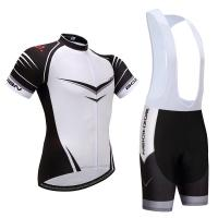Buy cheap China manufactory Wholesale100% Polyester short  Sleeve breathable fabric cycling jersey from wholesalers