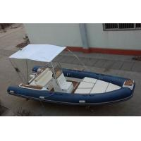 Buy cheap 6m Luxury Inflatable Rib Boat 1587 KGS Light Boat With Fiberglass Step from wholesalers