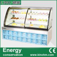 Buy cheap China factory, commercial showcase, pastry display cabinet showcase,cake display freezer from wholesalers