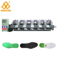 Buy cheap Automatic 1-2 Color Rubber Sole Making Machine With Auto Inter - Lock Protection System from wholesalers