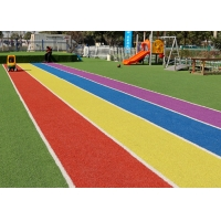 Buy cheap 18900 Density 65mm Indoor Synthetic Colored Artificial Turf product