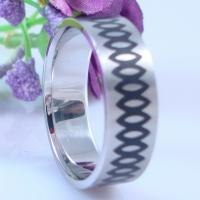 Buy cheap 2013 Fashion Eternity Band Ring Jewelry Engraved 316L Surgical Stainless Steel Infinity Ring from wholesalers