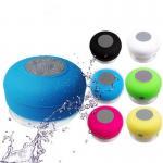 Buy cheap 2017 Hot Selling Rubber Housing Waterproof Bluetooth Shower Sucker Speaker from wholesalers