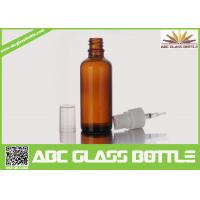 Quality China Supplier Big Sell 100ml Amber Glass Bottle Essential Oil Use for sale
