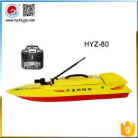 Buy cheap RC boats in fishing tackles HYZ-80 bait casting boat hulls from wholesalers